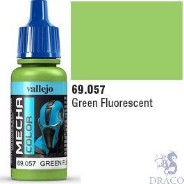 Vallejo Mecha Color 057: Green Fluorescent 17 ml.