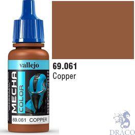 Vallejo Mecha Color 061: Copper 17 ml.