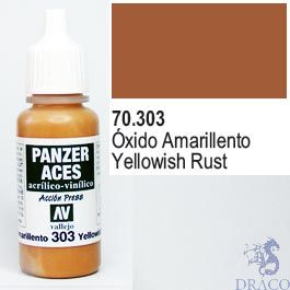 Vallejo Panzer Aces 303: Yellowish Rust 17 ml.