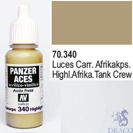 Vallejo Panzer Aces 340: Afrikakorps Highlights 17 ml.