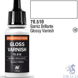 Vallejo 193: Modelcolor 510: Glossy Varnish 17 ml.