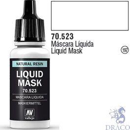 Vallejo 197: Modelcolor 523: Liquid Mask 17 ml.