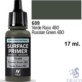 Vallejo Acrylic Polyurethane Primer - Russian Green 4BO 17 ml.