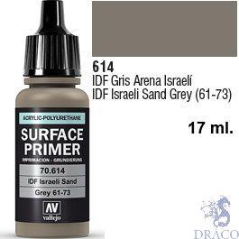 Vallejo Acrylic Polyurethane Primer - IDF Israelí Sand Grey 61-73 17 ml.