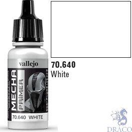 Vallejo Mecha Primer 640: White 17 ml.