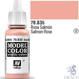 Vallejo 037: Modelcolor 835: Salmon Rose 17 ml.