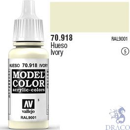 Vallejo 005: Modelcolor 918: Ivory 17 ml.
