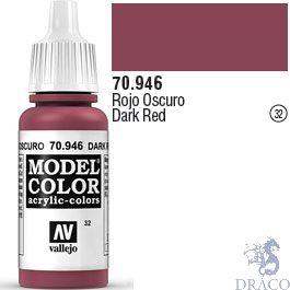 Vallejo 032: Modelcolor 946: Dark Red 17 ml.