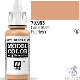 Vallejo 018: Modelcolor 955: Flat Flesh 17 ml.
