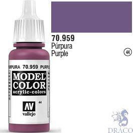 Vallejo 044: Modelcolor 959: Purple 17 ml.