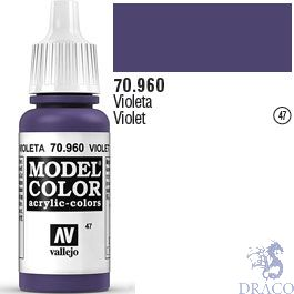 Vallejo 047: Modelcolor 960: Violet 17 ml.