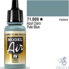 Vallejo Model Air 008: Pale Blue 17 ml.