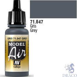 Vallejo Model Air 047: Grey 17 ml.