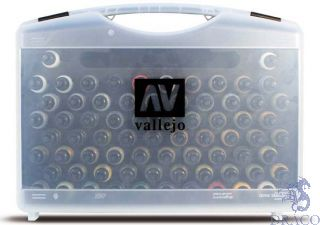 Vallejo Model Air Case - 72 Basic Colors Paint Set