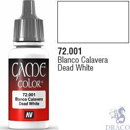 Vallejo Game Color 001: Dead White 17 ml.