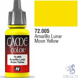 Vallejo Game Color 005: Moon Yellow 17 ml.