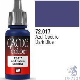 Vallejo Game Color 017: Dark Blue 17 ml.