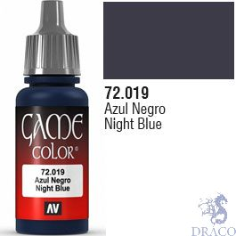 Vallejo Game Color 019: Night Blue 17 ml.