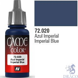 Vallejo Game Color 020: Imperial Blue 17 ml.