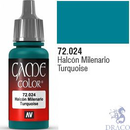 Vallejo Game Color 024: Turqouise 17 ml.