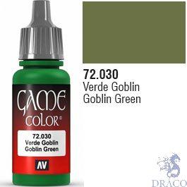 Vallejo Game Color 030: Goblin Green 17 ml.