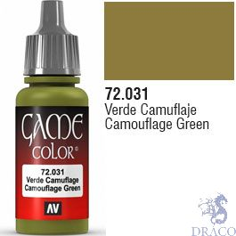 Vallejo Game Color 031: Camouflage Green 17 ml.