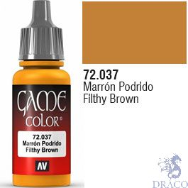 Vallejo Game Color 037: Filthy Brown 17 ml.