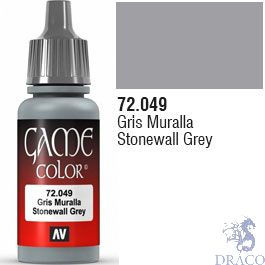 Vallejo Game Color 049: Stonewall Grey 17 ml.