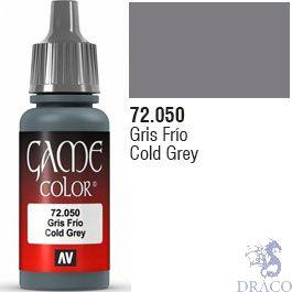 Vallejo Game Color 050: Cold Grey 17 ml.