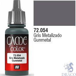 Vallejo Game Color 054: Gunmetal 17 ml.