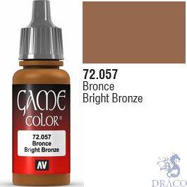 Vallejo Game Color 057: Bright Bronze 17 ml.