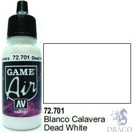 Vallejo Game Air 701: 17 ml. Dead White