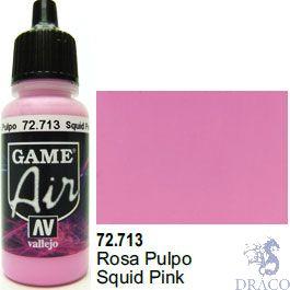 Vallejo Game Air 713: 17 ml. Squid Pink