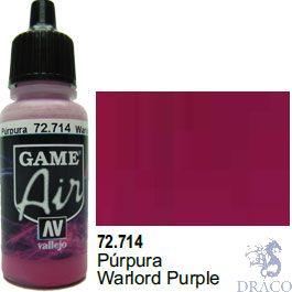 Vallejo Game Air 714: 17 ml. Warlord Purple