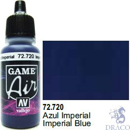 Vallejo Game Air 720: 17 ml. Imperial Blue