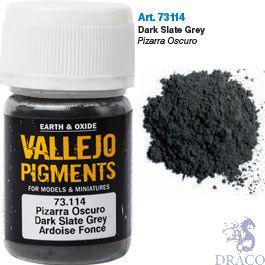 Vallejo Pigments 14: Dark Slate Grey 30 ml.