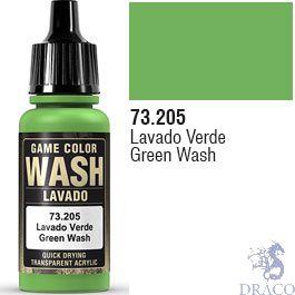 Vallejo Wash 05: 17 Ml. Green Shade