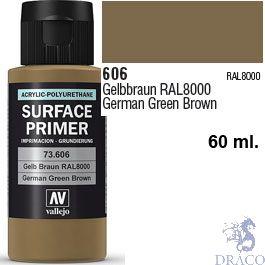 Vallejo Acrylic Polyurethane Primer - German Green Brown 60 ml.