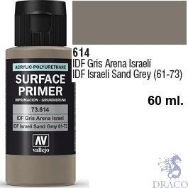 Vallejo Acrylic Polyurethane Primer - IDF Israelí Sand Grey 61-73 60 ml.