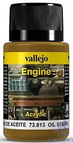 Vallejo Weathering Effects 813: Oil Stains 40 ml.