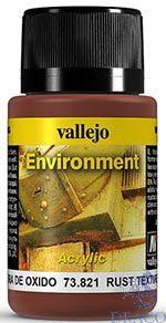 Vallejo Weathering Effects 821: Rust Texture 40 ml.