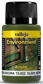 Vallejo Weathering Effects 822: Slimy Grime Dark 40 ml.