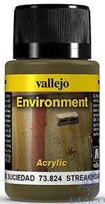Vallejo Weathering Effects 824: Streaking Grime 40 ml.