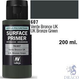 Vallejo Acrylic Polyurethane Primer - U.K. Bronze Green 200 ml.