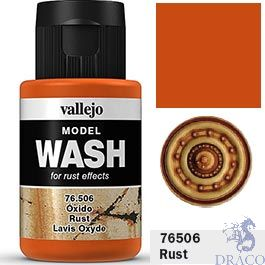 Vallejo Model Wash 06: Rust 35 ml.