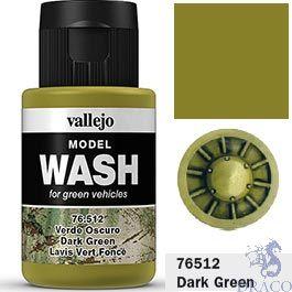 Vallejo Model Wash 12: Dark Green 35 ml.