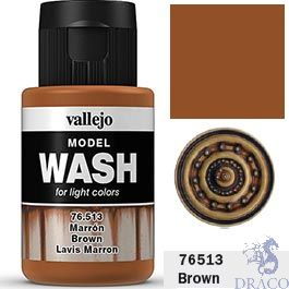 Vallejo Model Wash 13: Brown 35 ml.