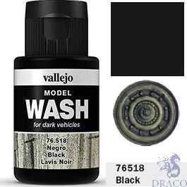 Vallejo Model Wash 18: Black 35 ml.