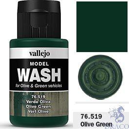 Vallejo Model Wash 19: Olive Green 35 ml.