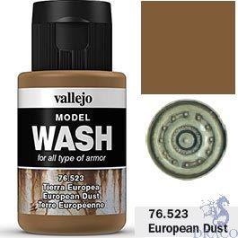 Vallejo Model Wash 23: European Dust 35 ml.